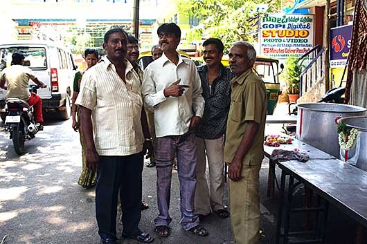 Bangalore 小さなセレモニー