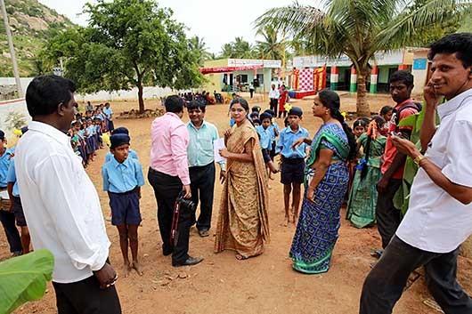 バンガロール CSR活動 Maharaja katte Village, Kanakapura