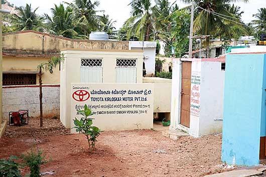 Bengaluru CSR活動@Maharaja Katte Village, Kanakapura