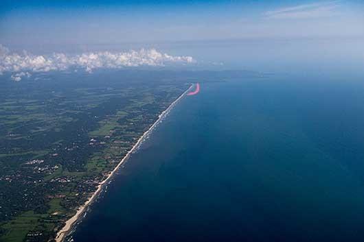 ゴア海岸線