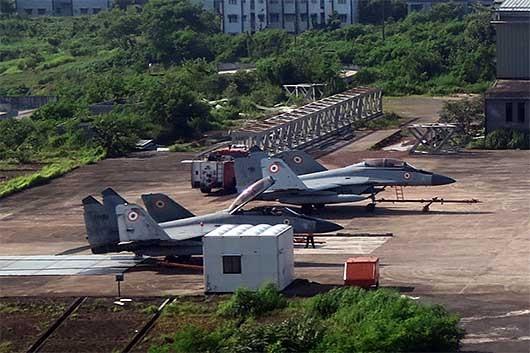 インド海軍 Mig-29 ゴア空港