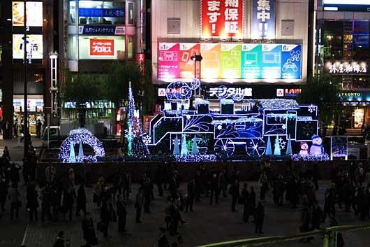 クリスマスイルミネーション@新橋