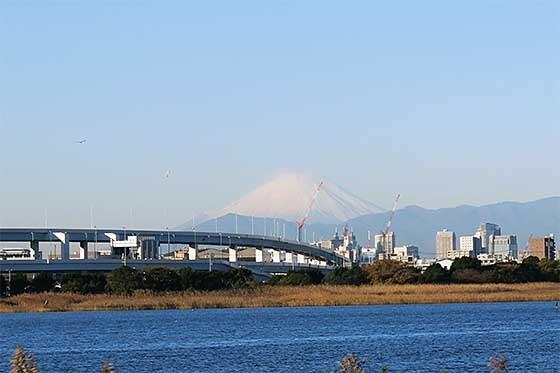 富士山 羽田より