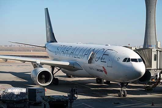 中国国際航空 Star Alliance 特別塗装機