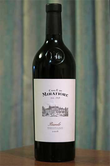 イタリアワイン Casa E Di Mirafiore Barolo 2008